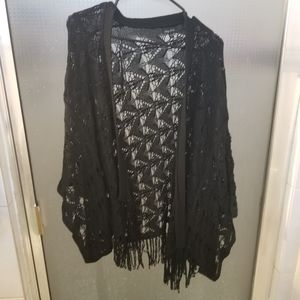 2/$20 City Chic black cardigan